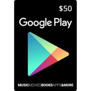 گیف کارت 50 دلاری گوگل پلی