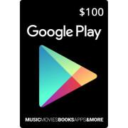 گیف کارت 100 دلاری گوگل پلی